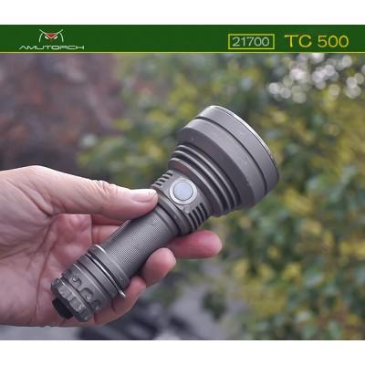 Đèn Pin AMUTORCH TC500 Beam 800m pin 21700