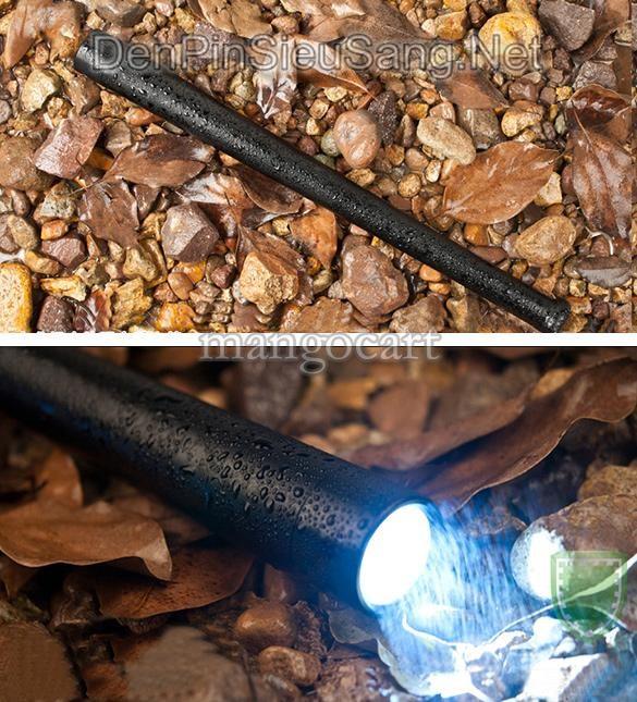 Đèn Pin Tự Vệ Siêu Sáng Gậy Bóng Chày C906