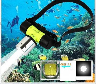 Đèn Đội Đầu Cho Thợ Lặn Chuyên Nghiệp
