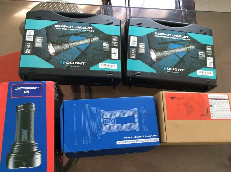 Đèn Pin Chiếu Xa 750m Mạnh Và Rộng JetBeam 4 T6 XPL 4350lm
