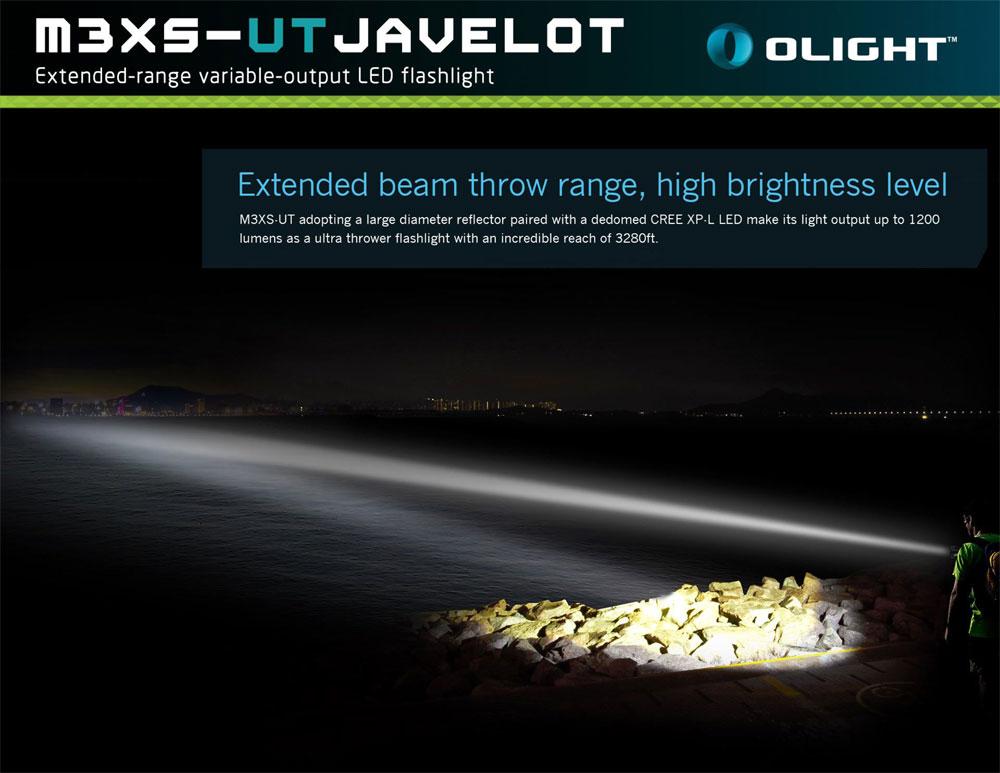 Đèn pin Olight M3XS-UT Javelot